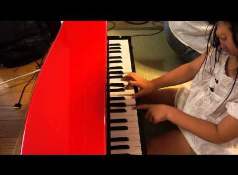 天才少女とはいかないけど…鍵盤教育の件。